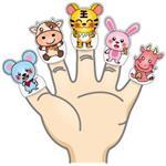 可愛生肖手指偶(共12款)