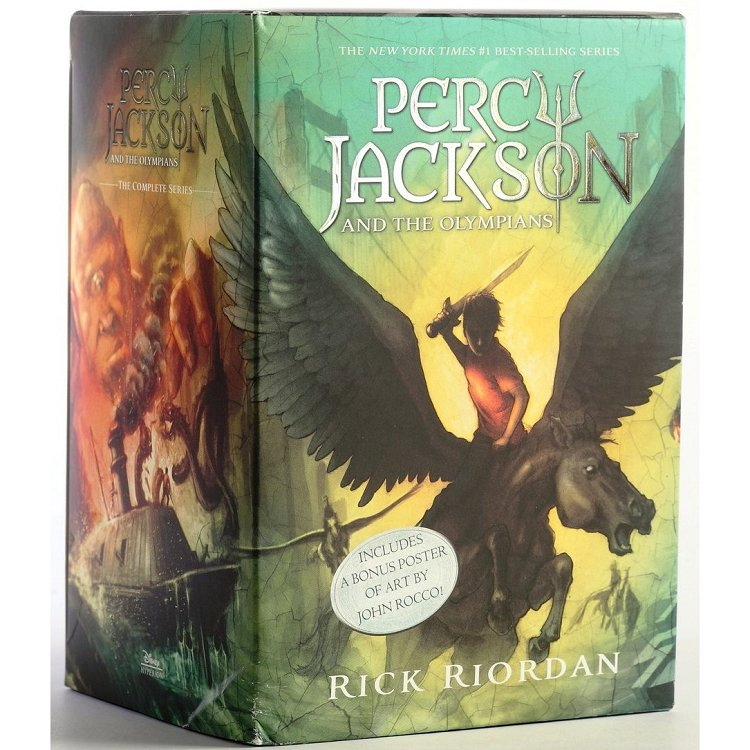 Percy Jackson and the Olympians Boxed Set (Paperback) 波西傑克森1-5套書(平裝)